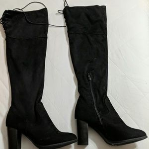 Above the knee heeled boots FINAL PRICE